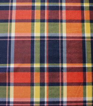 Sew Sweet Plaid Fabric-Fall Madras Plaid
