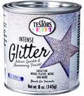 Testors 8 oz. Intense Glitter Paint-Iridescent