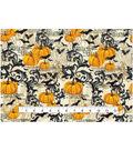 Halloween Cotton Fabric -Pumpkin Vines