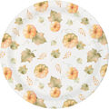 Simply Autumn 8 pk Lunch Plates-Pumpkins