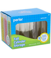 Perler Tall Cylinder Bead Storage Set, , hi-res