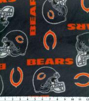 Chicago Bears Fleece Fabric -Tossed, , hi-res