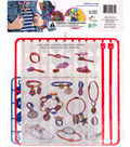 TinyTys Jewelry Kit-Blue/Red