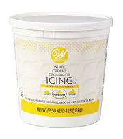 Wilton White Ready-To-Use Decorator Icing-4.5 lb. Tub, , hi-res