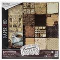 Ciao Bella Double-Sided Paper Pack 90lb 12\u0027\u0027X12\u0027\u0027 8/P-Buongiorno Italian