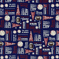 Snuggle Flannel Fabric-All Star & Team Player