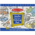 Blue -jumbo Coloring Pad
