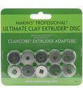 Makin\u0027s Professional Ultimate Clay Extruder Discs 10/Pk-Set C