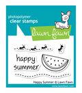 Lawn Fawn Clear Stamps 3\u0022X2\u0022-Happy Summer