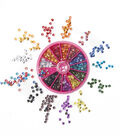 Tulip Glam-It-Up! Iron-On Crystals 12mm 600PK-Assorted Colors