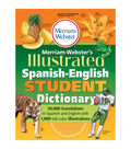Merriam-Webster MW-1775 Illustrated Spanish-English Student Dictionary