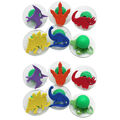 Ready2Learn Giant Stampers, Dinosaurs, Set of 6, 2 Sets