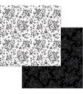 BoBunny Black Tie Affair 12\u0027\u0027x12\u0027\u0027 Double-Sided Cardstock