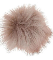 Bergere De France Synthetic Fur Pom Pom-Pink, , hi-res