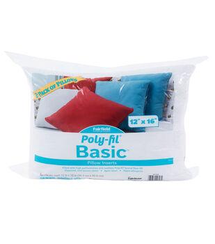 Poly-Fil Basic 2 pk 12''x16'' Pillow Inserts