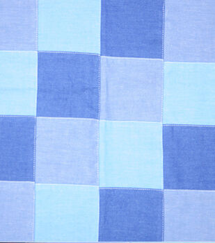 Sportswear Denim Fabric-Patchwork
