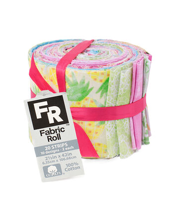 Jelly Roll Cotton Fabric Pack 2.5''x42''-Animal