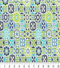 Keepsake Calico Cotton Fabric 44\u0022-Vessels Green