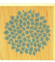 Inkadinkado Rubber Stamp-Peony Print, , hi-res