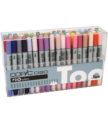 Copic Ciao Marker Set-72PK/Set B
