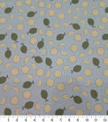Quilter\u0027s Showcase Cotton Fabric-Limes On Teal