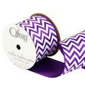 2 And One Qtr Purple Haze Chevron Ribbon