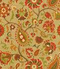 Waverly Print Fabric 54\u0022-Siren Song/Cayenne