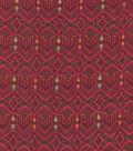 Silky Prints-Crepe Diamond Wave Wine