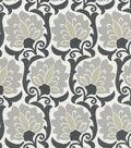 Waverly Multi-Purpose Decor Fabric 56\u0022-Playing Around Noir
