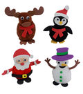 Little Makers Bulk Foam Stickers-Christmas