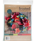 Lia Griffith 24 pk 20\u0027\u0027x20\u0027\u0027 Frosted Tissue Papers-Holiday Cheer