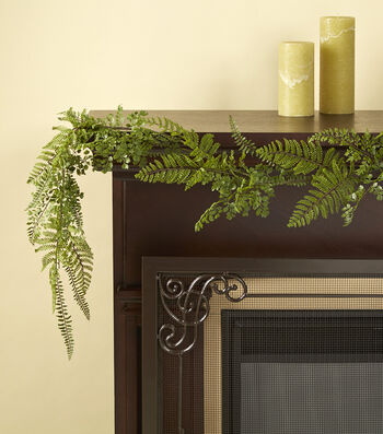 Bloom Room 72'' Mixed Fern Garland