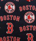 Boston Red Sox Fleece Fabric 58\u0027\u0027-Tossed