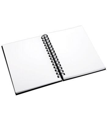 """Proart 8-1/2""""x11"""" Spiral Bound Sketch Book"""