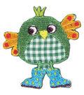 Green Bird Applique
