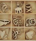 Themed Mini Wooden Flourishes-Always & Forever Wedding