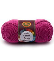 Lion Brand 24/7 Cotton Yarn, , hi-res
