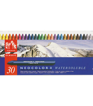 Caran D'Ache NeoColor II Water Soluble Wax Pastel Set