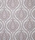 Home Decor 8\u0022x8\u0022 Fabric Swatch-Print Fabric Eaton Square Farrell Mocha