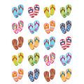 Teacher Created Resources Flip Flops Stickers 12 Packs