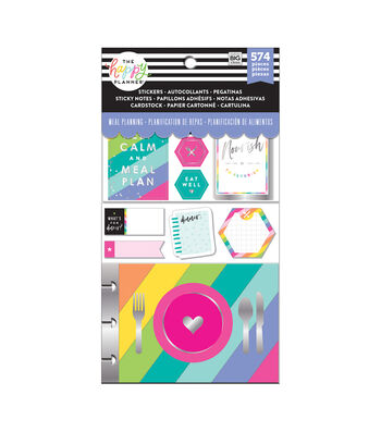 The Happy Planner Meal Planning Accessories Pack