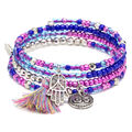LaurDIY Mini DIY Wire Bracelet Kit-Blue & Purple