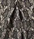 Casa Embellish Velvet Fabric 58\u0022-Burnout Black