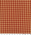 Homespuns Cotton Fabric -Red Check