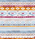 Snuggle Flannel Fabric-Bright Geometric Southwest