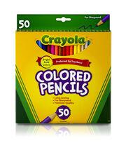 Crayola Colored Pencils-50/Pkg Long, , hi-res