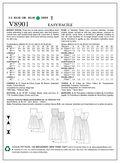 Vogue Patterns Misses Dress-V8901