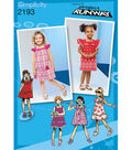 Simplicity Pattern 2193BB 4-5-6-7-8 -Simplicity Toddlers