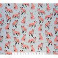 Super Snuggle Flannel Fabric-Sophisticated Fox