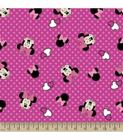 Disney Minnie Mouse Print Fabric-Bows and Dots, , hi-res